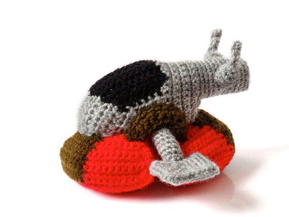 Amigurumi Free Pattern Dinosaur : Star Wars Slave I Amigurumi Crochet Pattern - Boba Fetts ...