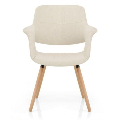 Finley Eames Style Chair Oak & Cream - Atlantic Shopping