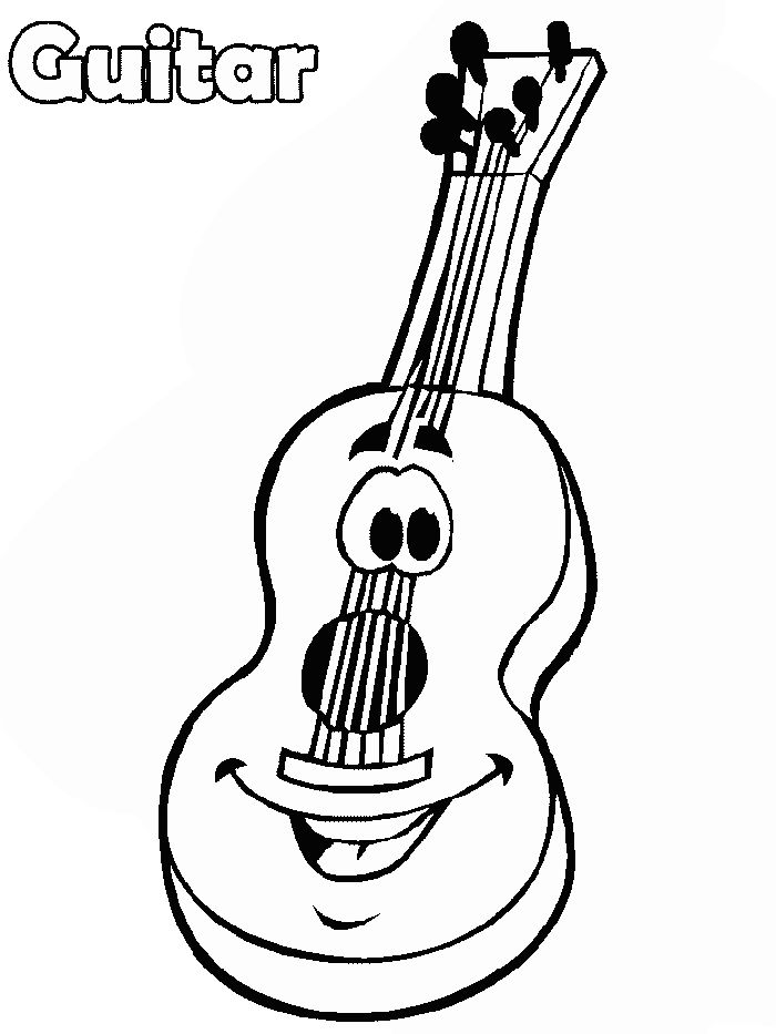 Music Coloring Pages Awesome Musical Instrument Coloring