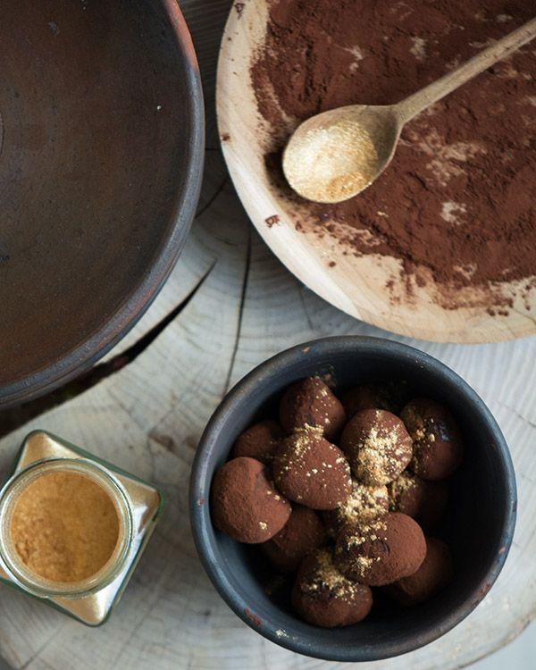 Chokolade trøfler. Valdemarsro