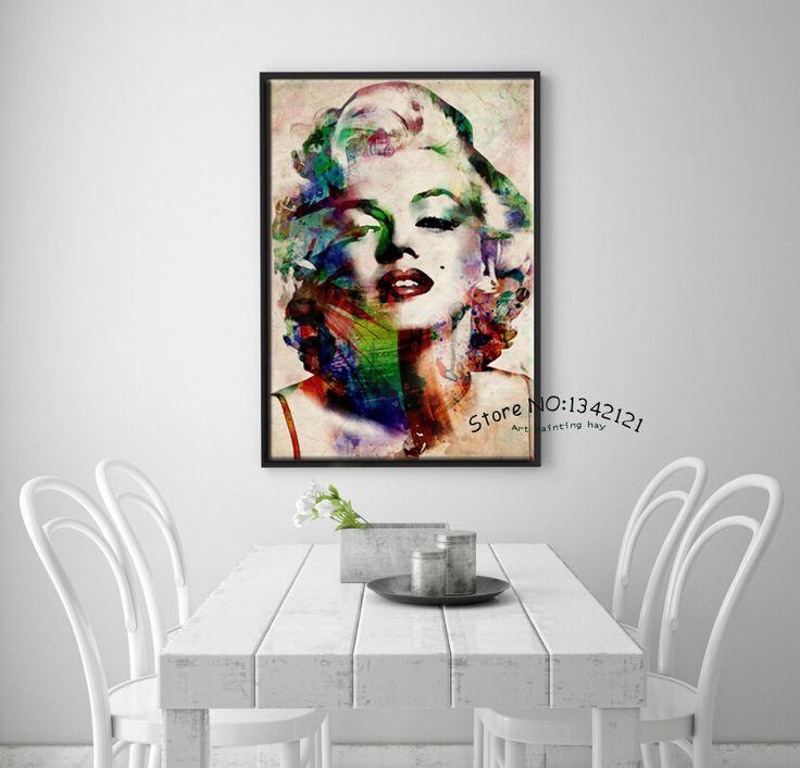 Поп-арт Современный cuadros декоративно-прикладного искусства портрет холст…