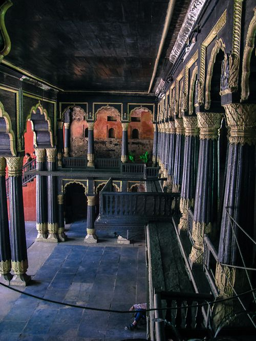 Tipu Sultan's Palace in Bangalore, India