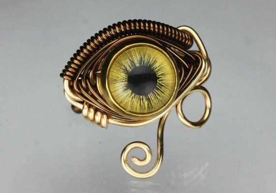Egyption Eye Ring