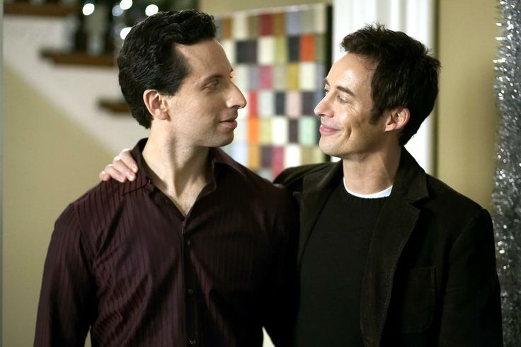 Ben Shenkman, Thomas Cavanagh, 2007| Essential Gay Themed Films To Watch, Breakfast with Scot http://gay-themed-films.com/watch-breakfast-with-scot/