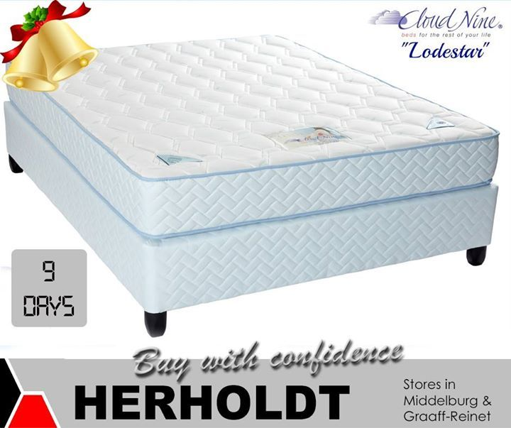 Only 9 shopping days left until Christmas. Visit Herholdts in Middelburg or Graaf-Reinet for your new base and mattress set and choose from our wide range of top name brands. Great prices and excellent service. #lifestyle #homeimprovement #gifts