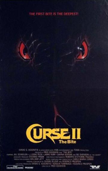 70's & 80's Films: Curse II: The Bite (1989)
