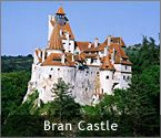 Romania's Castles and Fortresses - Bran Castle, also known as Dracula's Castle (near Brasov, Romania)