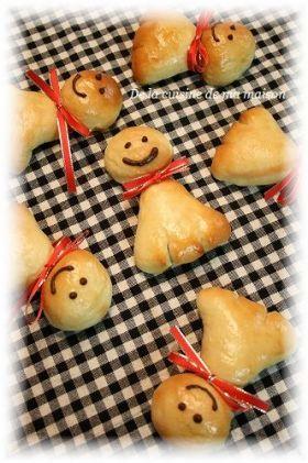 「天気にな〜っれ☆てるてる坊主パン」maya | お菓子・パンのレシピや作り方【corecle*コレクル】