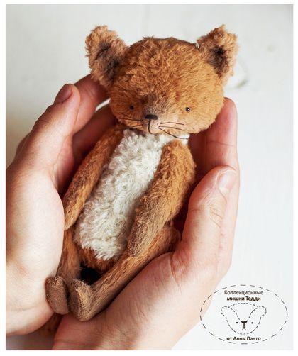 Тедди лисёнок (мишка тедди Лисенок)