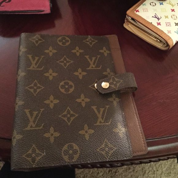 Authentic Louis Vuitton Agenda Pm Missing The Binder . But