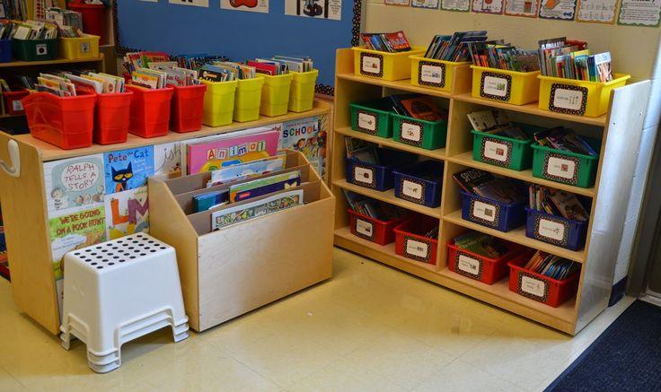A Place Called Kindergarten: classroom tour 2014: BIG Book storage!