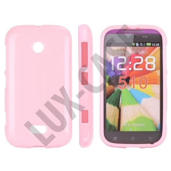 Nokia Lumia 510 Suojakotelo - Pinkki