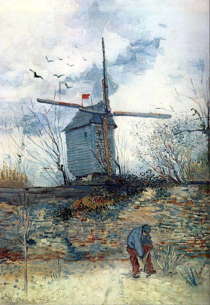 Le Moulin à Poivre 1886 Vincent Van Gogh