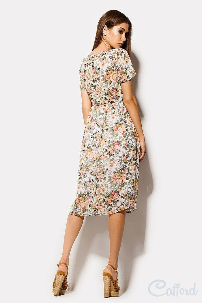 Вискоза штапель платье
