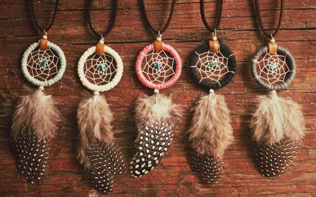 O Apanhador ou Filtro dos Sonhos é um objeto indígena nativo da América do Norte.