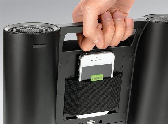 Eton Rukus Portable Bluetooth Solar Powered Wireless Speaker System - $130