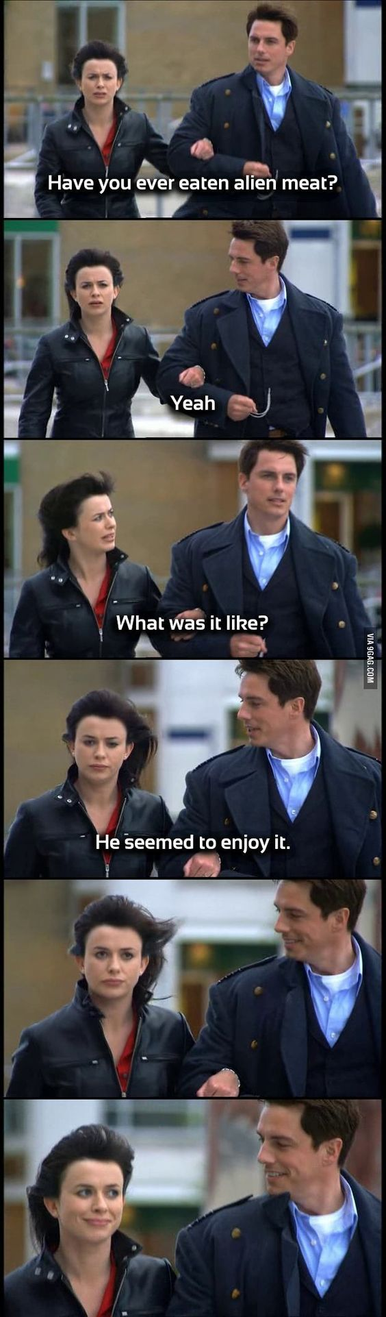 Torchwood ~ Captain Jack Harkness everyone!: