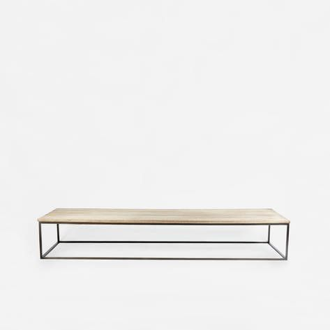 Jonathan Burden — Reclaimed Wood Low Table - The Line NYC