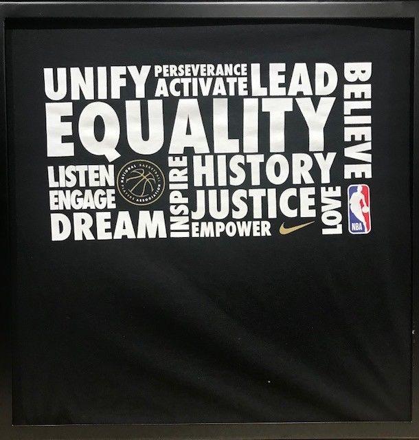 963403a09ba86 NIKE NBA EQUALITY T-Shirt MEN S SIZE S-2X  Nike  GraphicTee