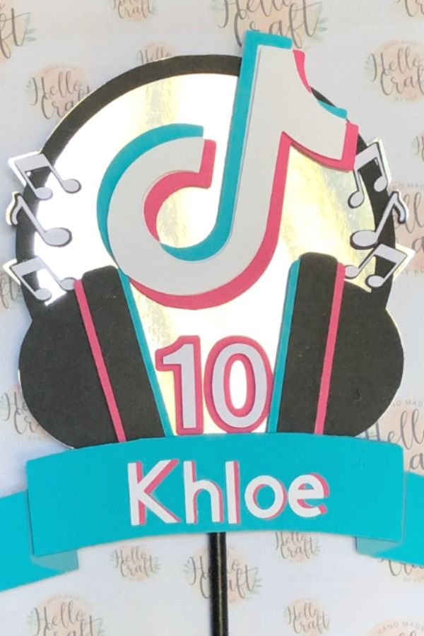 Turn A Simple Birthday Cake Into A Showstopper With This Fun Tiktok Cake Topper In No Time Simple Birthday Cake Easy Party Decorations Birthday Party Planning