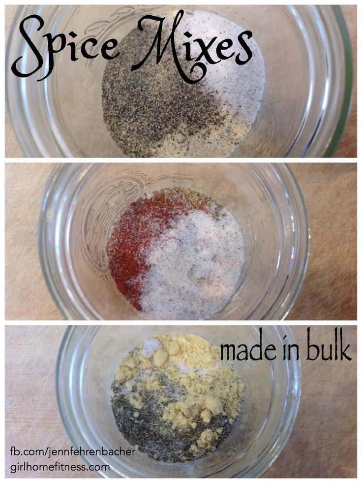21 day fix seasoning mixes