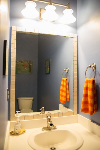 1000+ images about Framing Bathroom Mirrors on Pinterest ...