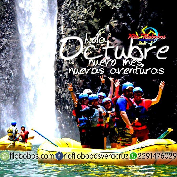 Hola #octubre ... nuevo #mes nuevas #aventuras en #filobobos #Veracruz http://www.filobobos.com