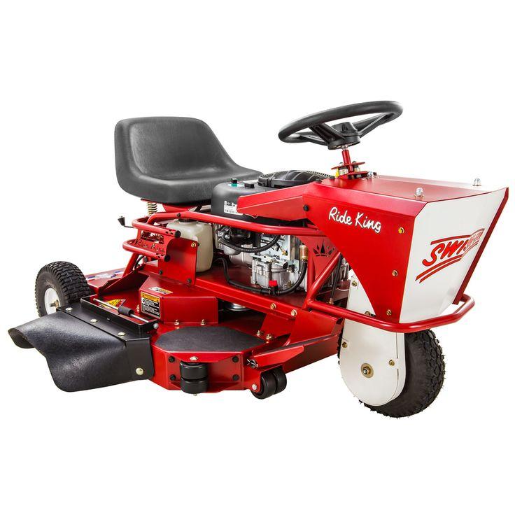 Swisher Ride King 10.5-HP V-Twin Manual 32-in Zero-Turn Lawn Mower