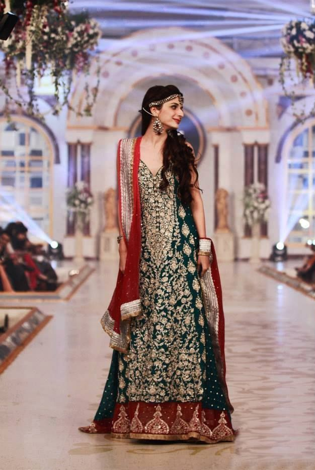 Latest 2014 Pakistani Bridal Couture Wedding Dresses For Women