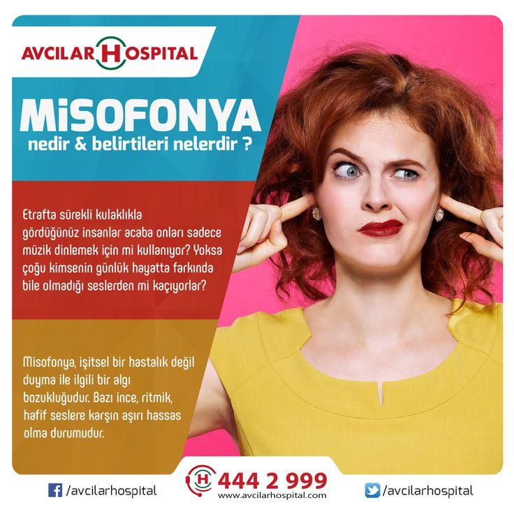 Misofonya, işitsel bir hastalık değil duyma ile ilgili bir algı bozukluğudur. Bazı ince, ritmik, hafif seslere karşın aşırı hassas olma durumudur.  YAZININ DEVAMI >>> https://www.facebook.com/avcilarhospital/photos/a.208705999160353.55905.207620189268934/1290225424341733/?type=3&theater