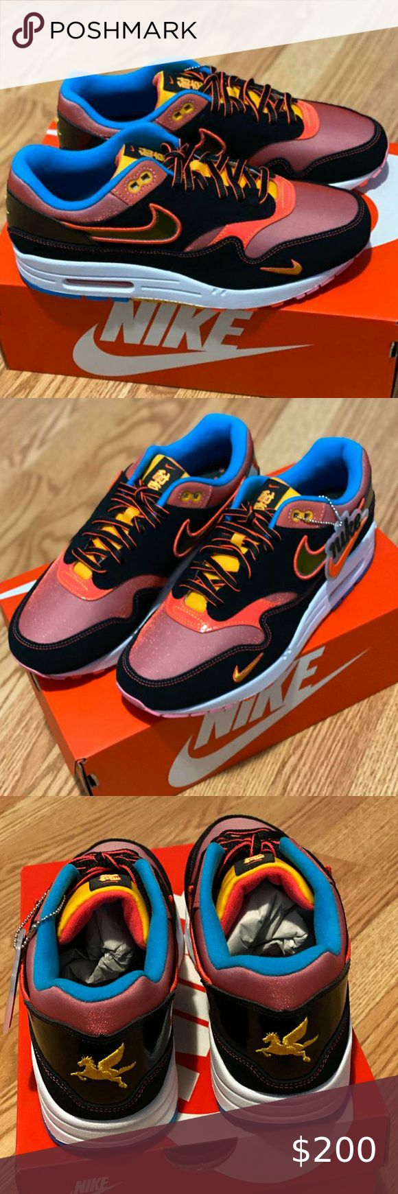 Nike Air Max 1 'NYC Chinatown' Size 8 Men CU66450 Nike