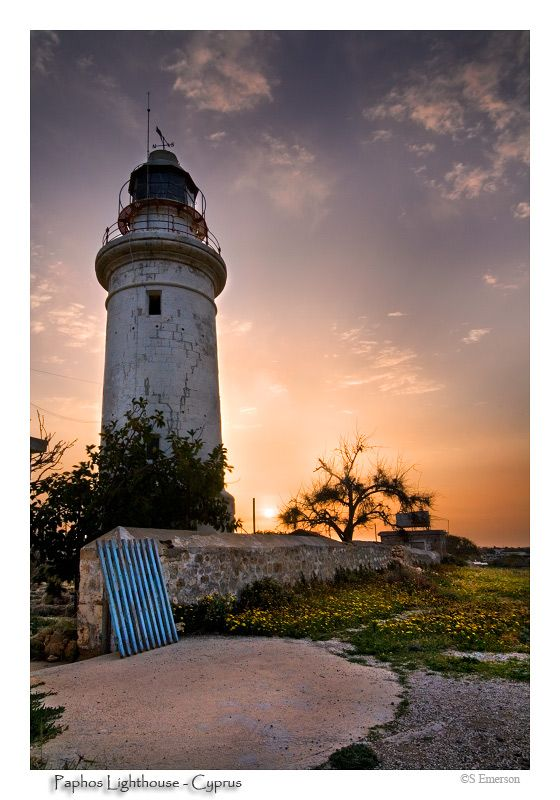 It is a disused lighthouse which stands above a Roman amphitheater in #Paphos #Cyprus #kitsakis