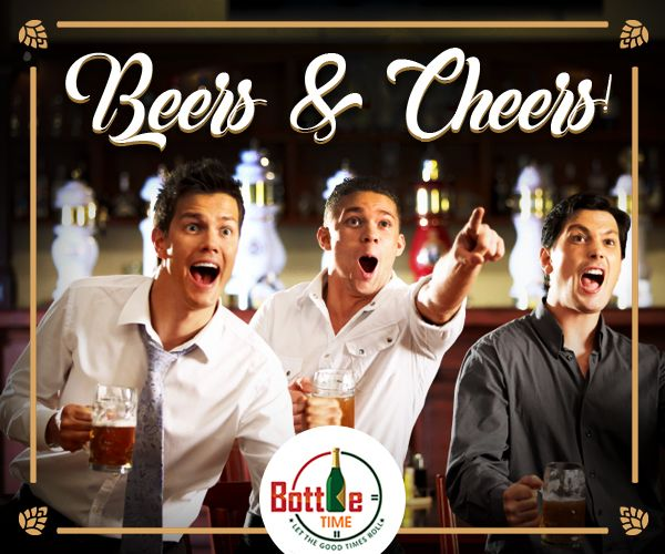 Beer up your cheer time! Order #Beer @ 403-918-3030  www.bottletime.ca