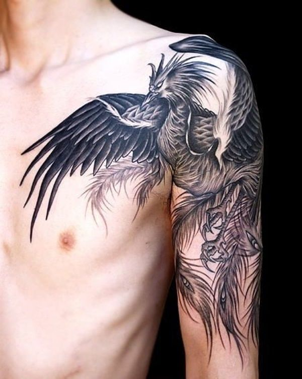 shoulder tattoo designs (37)                                                                                                                                                                                 More
