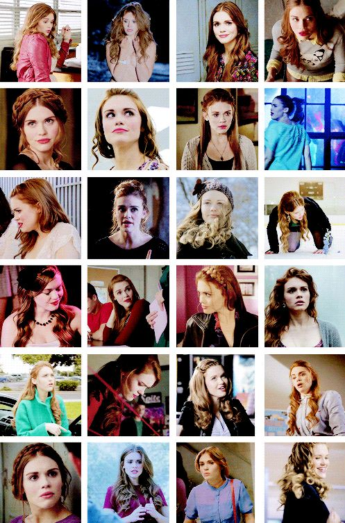lydia martin + her flawless hairstyles
