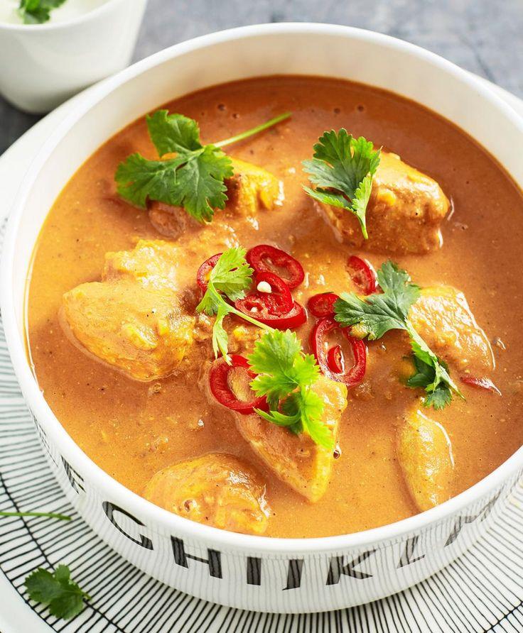 Butter chicken eli intialainen voikana