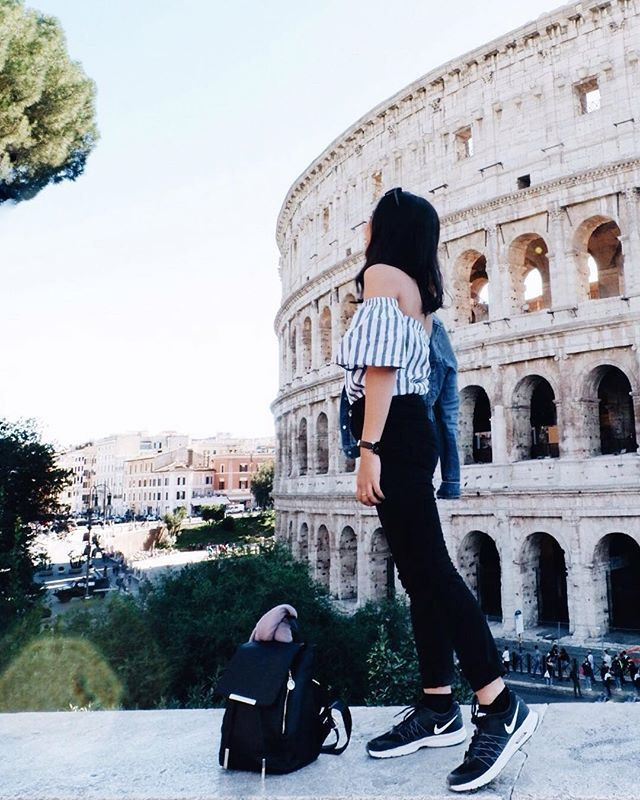 Rome will always have a special place in my heart. 💖 Happy Halloween, everyone! What are your plans to celebrate it tonight? #bloggerbandfam #theexchange