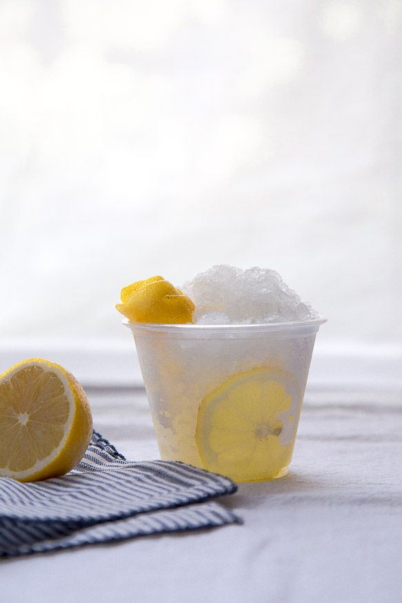 Frozen vodka tonic slush! Perfect for the summer. How refreshing is that!?!