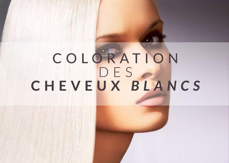 la coloration des cheveux blancs httpwwwcolor maniafr - Coloration Semi Permanente