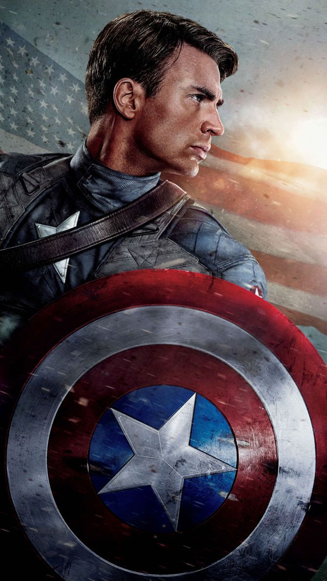 Captain America The First Avenger 2011 Phone Wallpaper