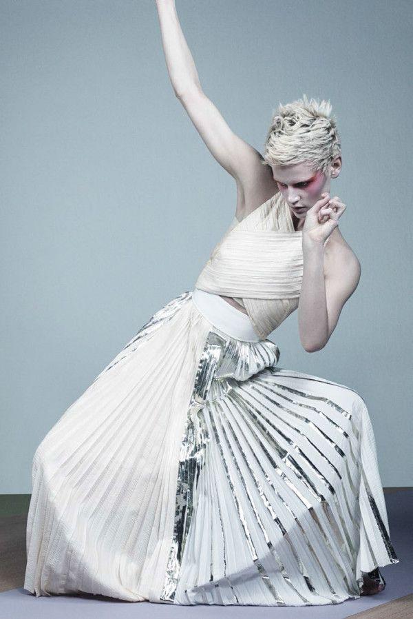 Saskia De Brauw for Vogue Italia February 2014