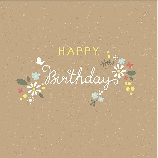 Birthday Quotes Fleur Carte De Joyeux Anniversaire Avec