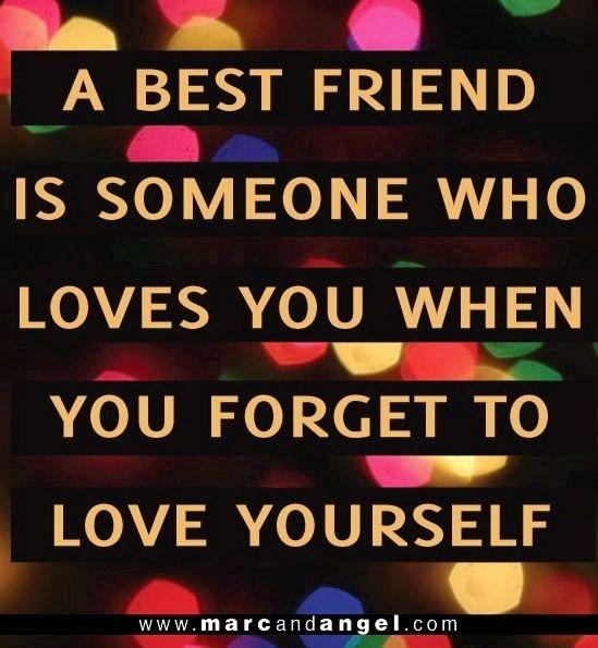Best friend quote via www.MarcandAngel.com