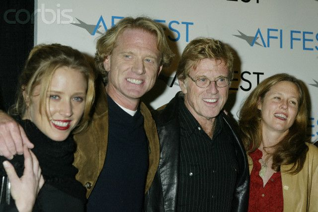 Jamie Redford   ... is on the far right in the pic, also pictured daughter Amy e son Jamie
