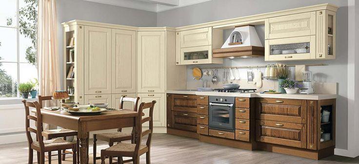 Talianske kuchyne - Rustikálny model LAURA - www.studio-it.sk