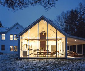 Hurst House John Pardey Architects and Strom Architects
