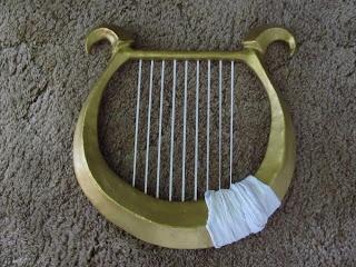 sheik cosplay harp