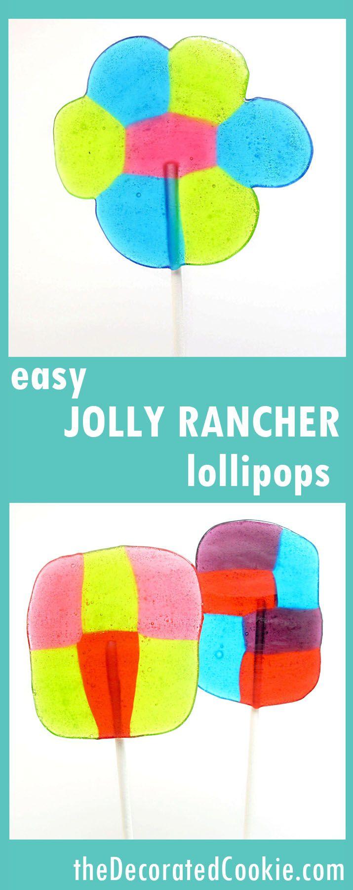 easy JOLLY RANCHER lollipops