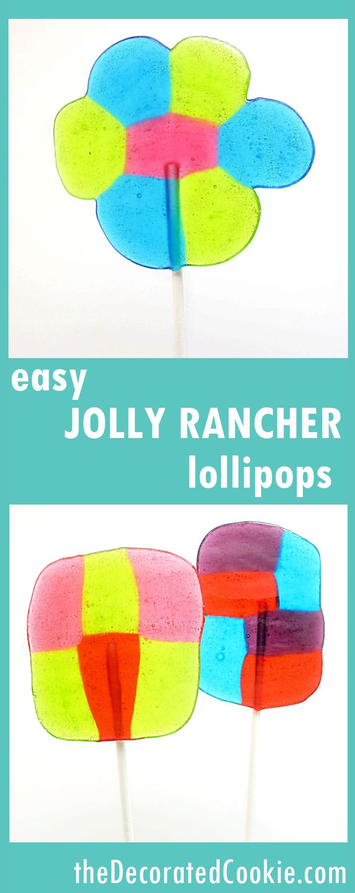 easy JOLLY RANCHER lollipops