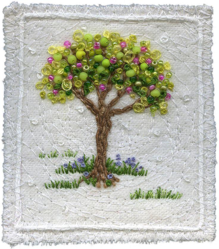 Bead art painting miniatures make handmade